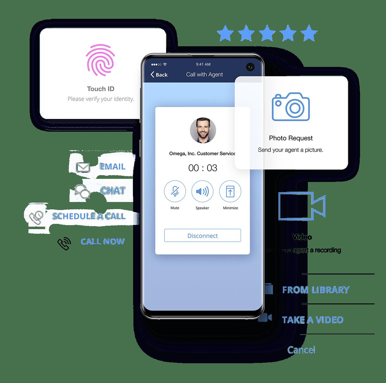 customer app image