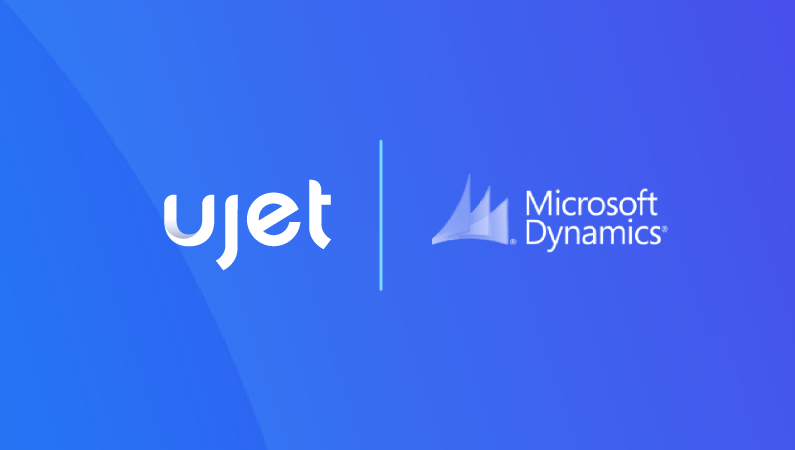 UJET Integration with Microsoft Dynamics